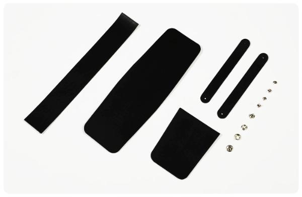 メディスンポーチキットSサイズ・ダブルループ/サドルレザー・スタンダードマット